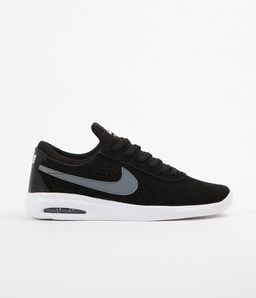 Nike SB Air Max Bruin Vapor Shoes - Black / White / White / Cool Grey