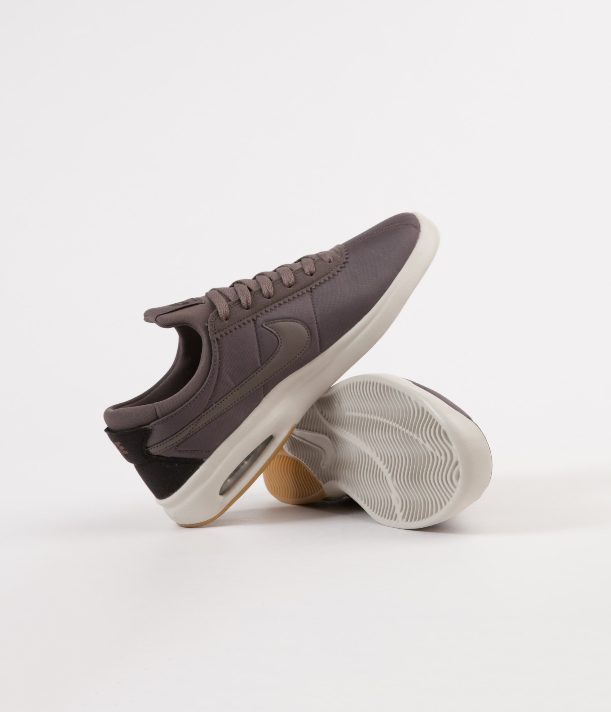 Nike SB Air Max Bruin Vapor Textile Shoes - Ridgerock / Ridgerock - Light Bone