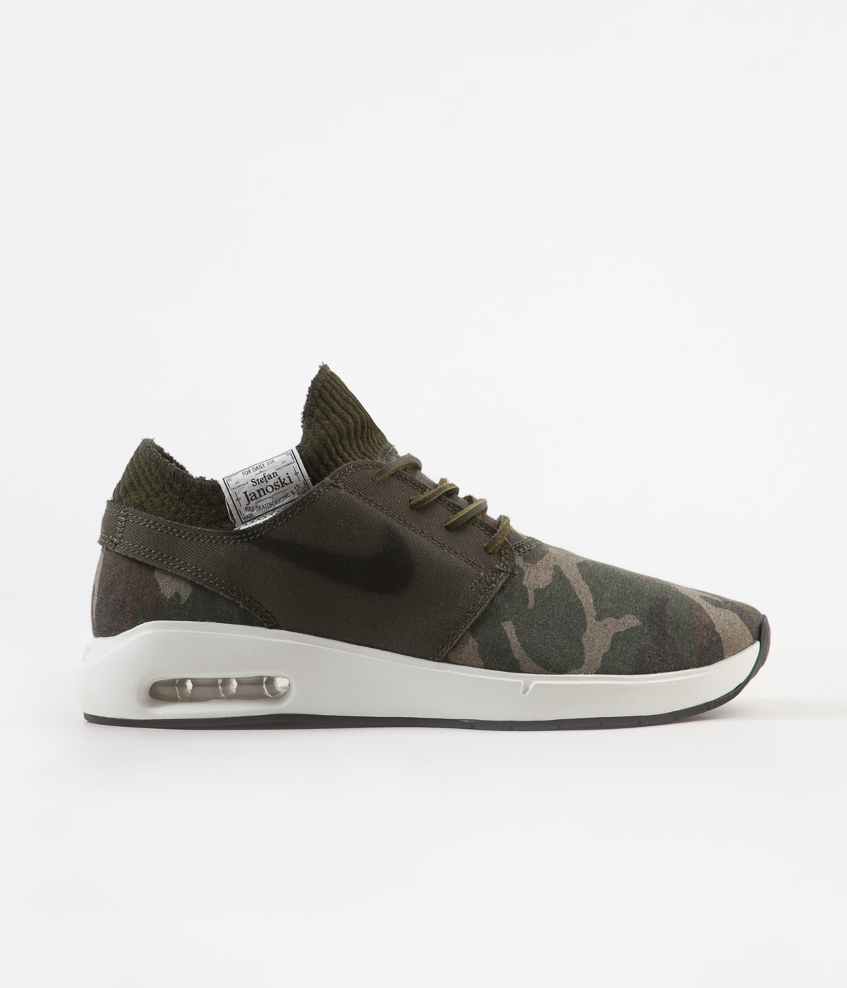 Nike SB Air Max Janoski 2 Premium Shoes (iguana black cargo