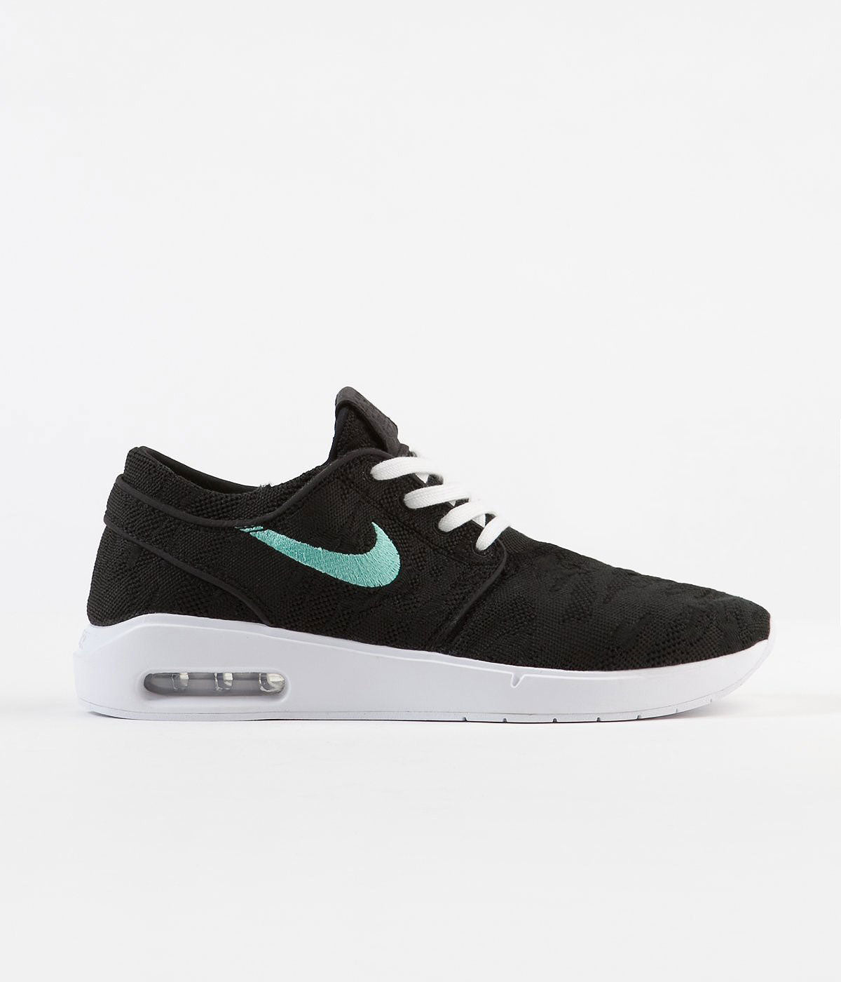 Nike SB Air Max Janoski 2 Shoes - Black / Mint - Black