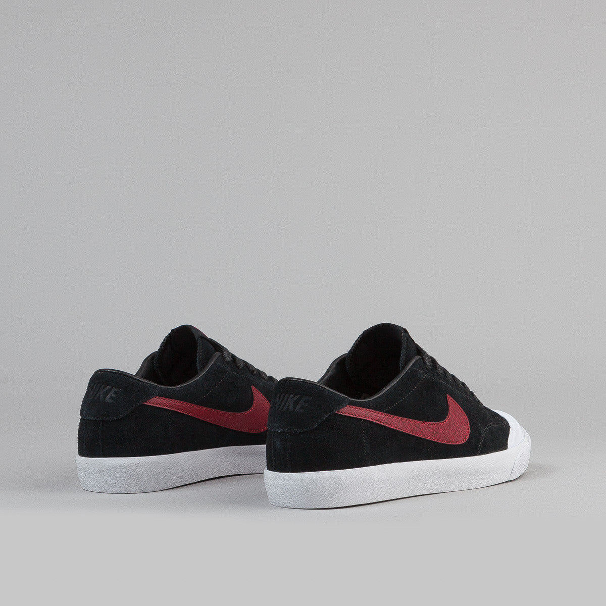 Nike SB Air Zoom All Court CK - Black / Team Red - White