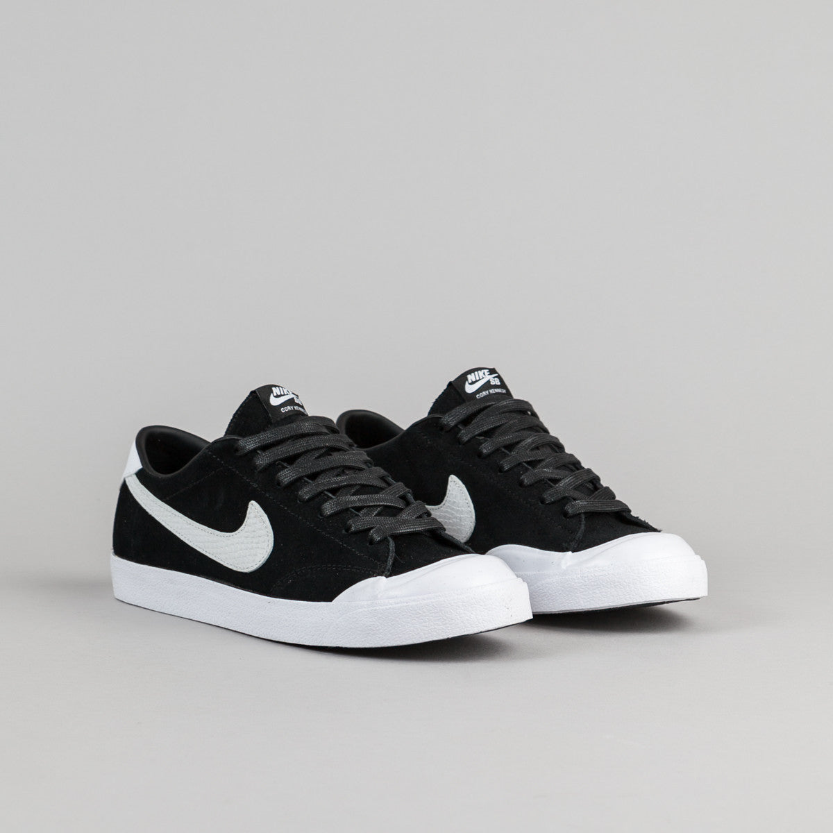 Nike SB All Court CK QS Shoes - Black / White