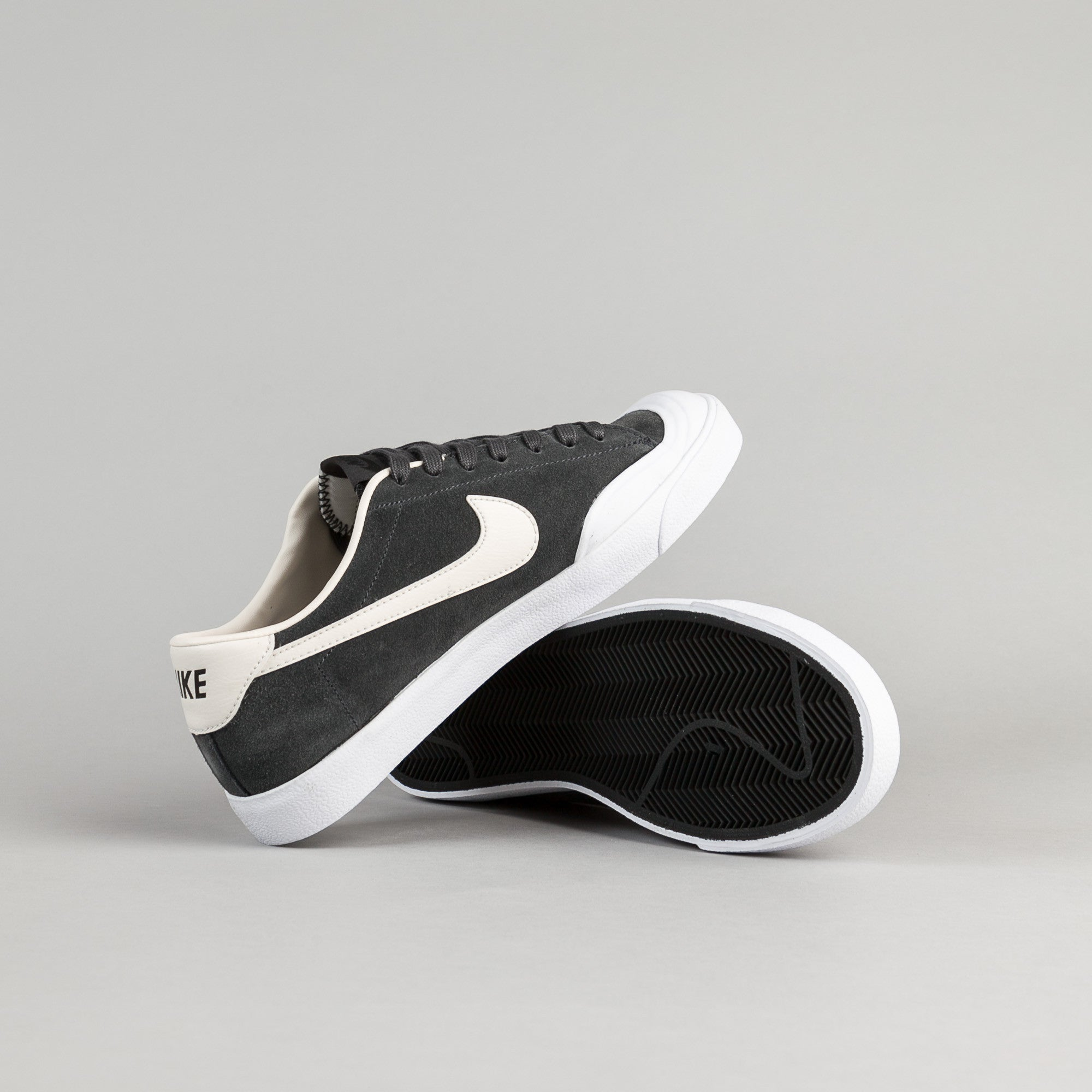 Nike SB All Court CK Shoes - Anthracite / Phantom - White - Black