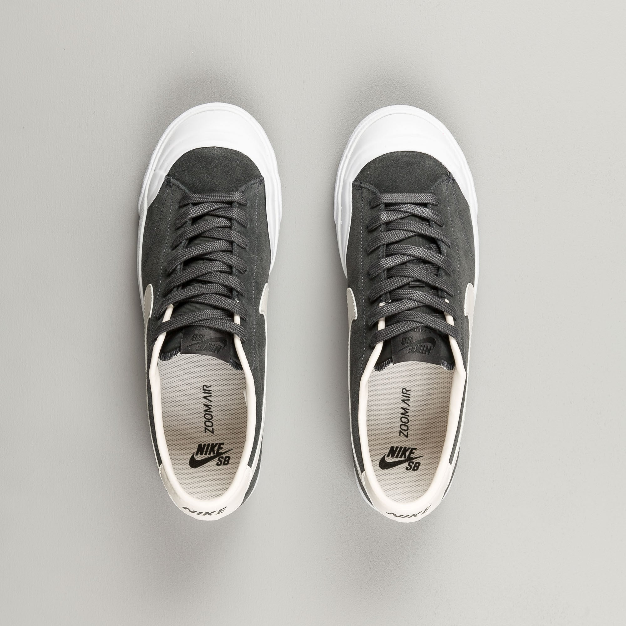 super quality outlet hot sales Nike SB All Court CK Shoes - Anthracite / Phantom - White ...