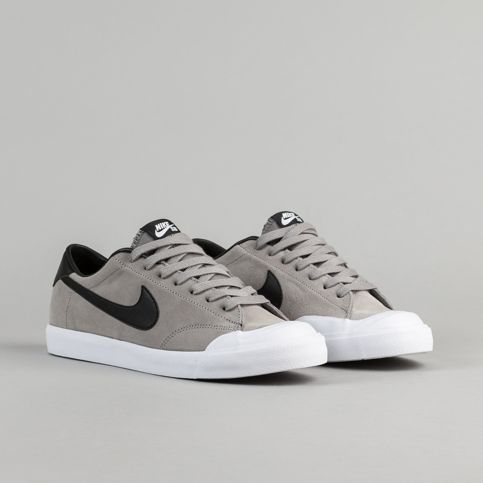 Nike SB All Court CK Shoes - Dust / Black - White