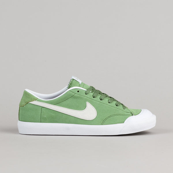 Nike SB All Court CK Shoes - Treeline - Light Bone - White