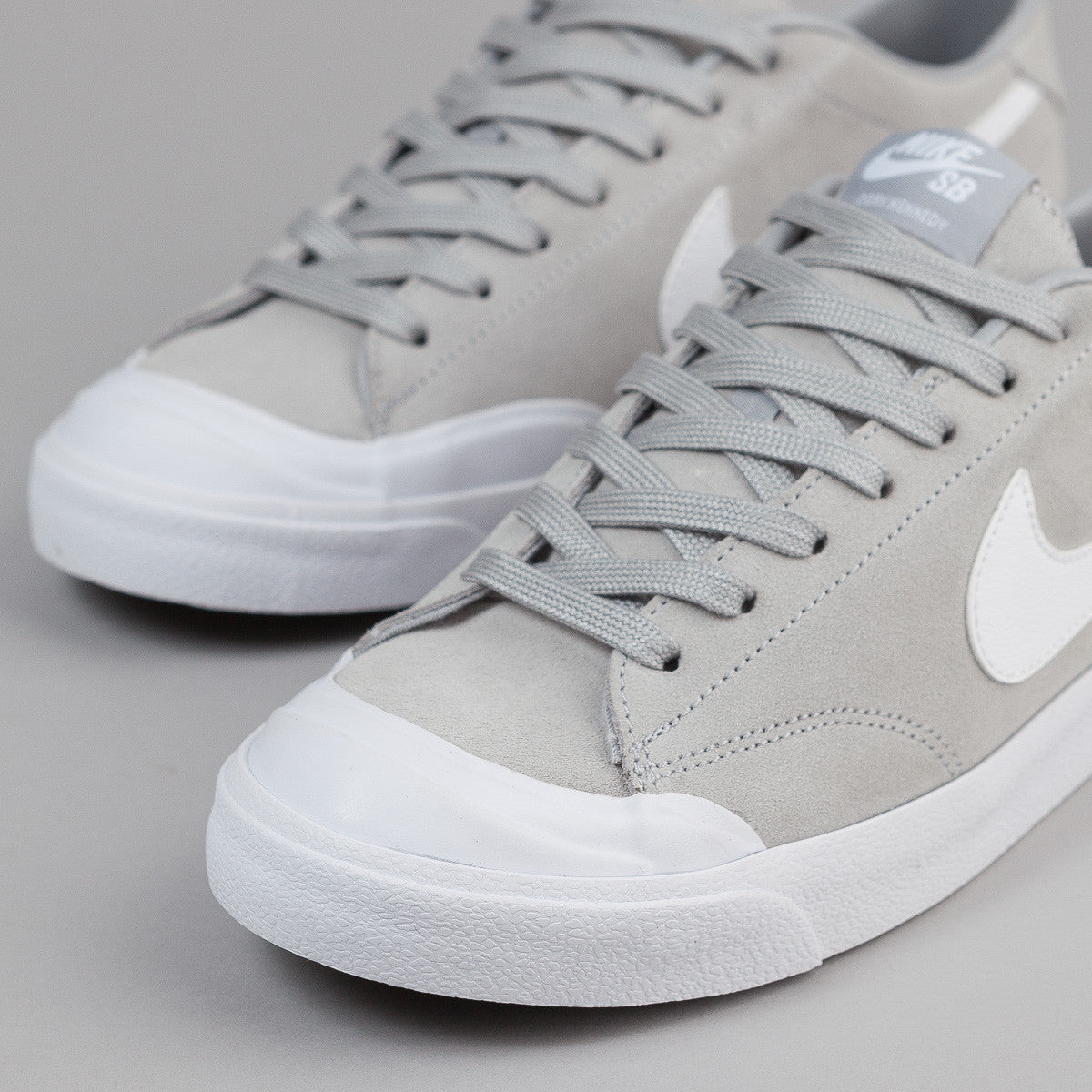 Nike SB All Court CK Shoes - Wolf Grey / White