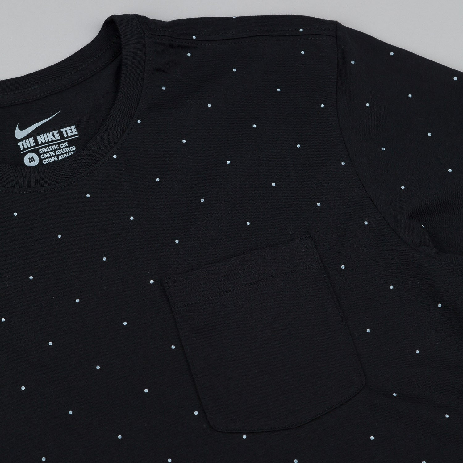 Nike SB AOP Micro Dot Short Sleeve T-Shirt - Black / White
