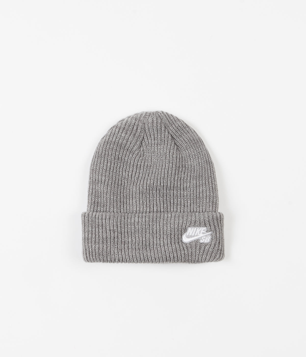c86a01d21 Nike SB Fisherman Beanie - Dark Grey Heather / White