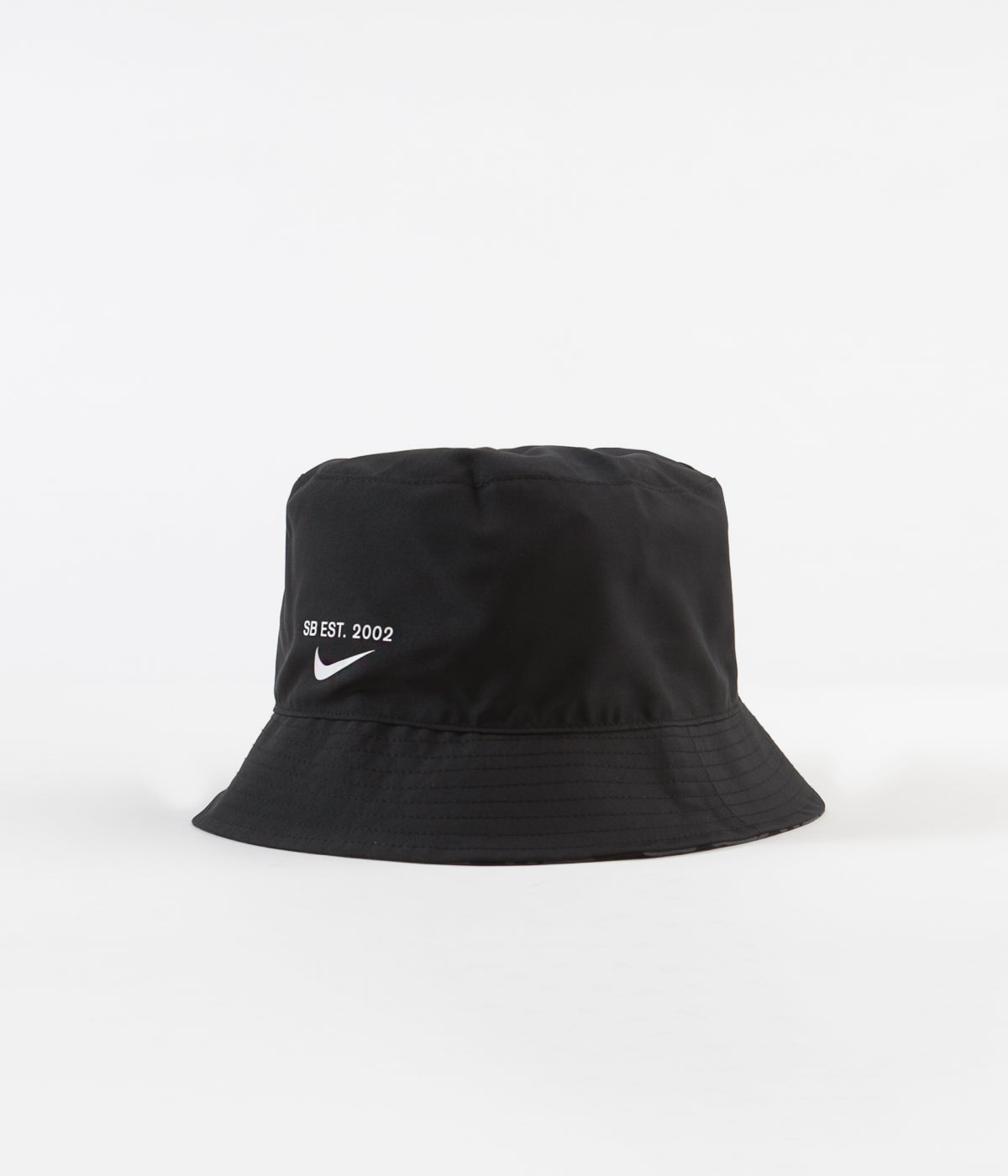 Nike SB Big Leaf Print Bucket Hat - Black