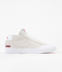Nike SB Blazer Chukka XT Ishod Wair Shoes - Sail / University Red - White - Black