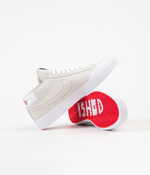 big sale 55df5 4e987 Nike SB Blazer Chukka XT Ishod Wair Shoes - Sail / University Red - White -  Black
