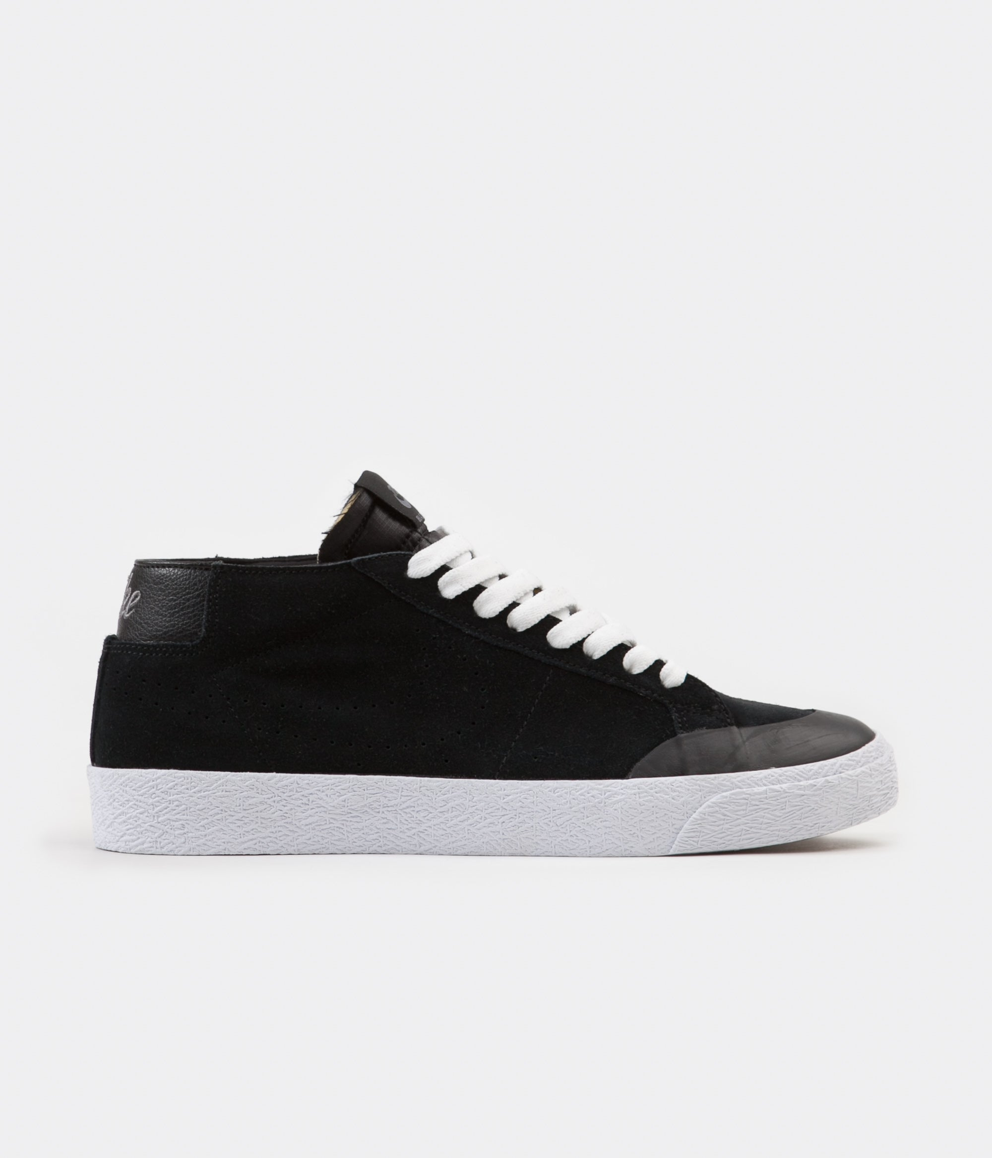 Nike SB Blazer Chukka XT Shoes - Black / Black - Gunsmoke