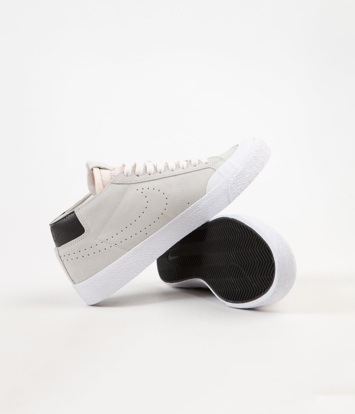 Nike SB Blazer Chukka XT Shoes - Phantom / Phantom - Black