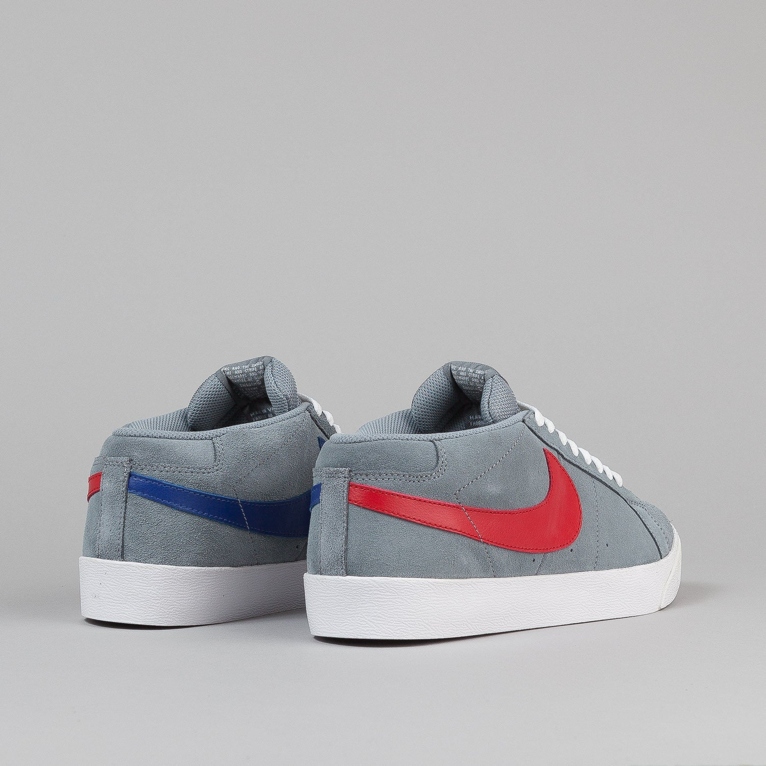 Nike SB Blazer CS Shoes - Union Grey / Varsity Red