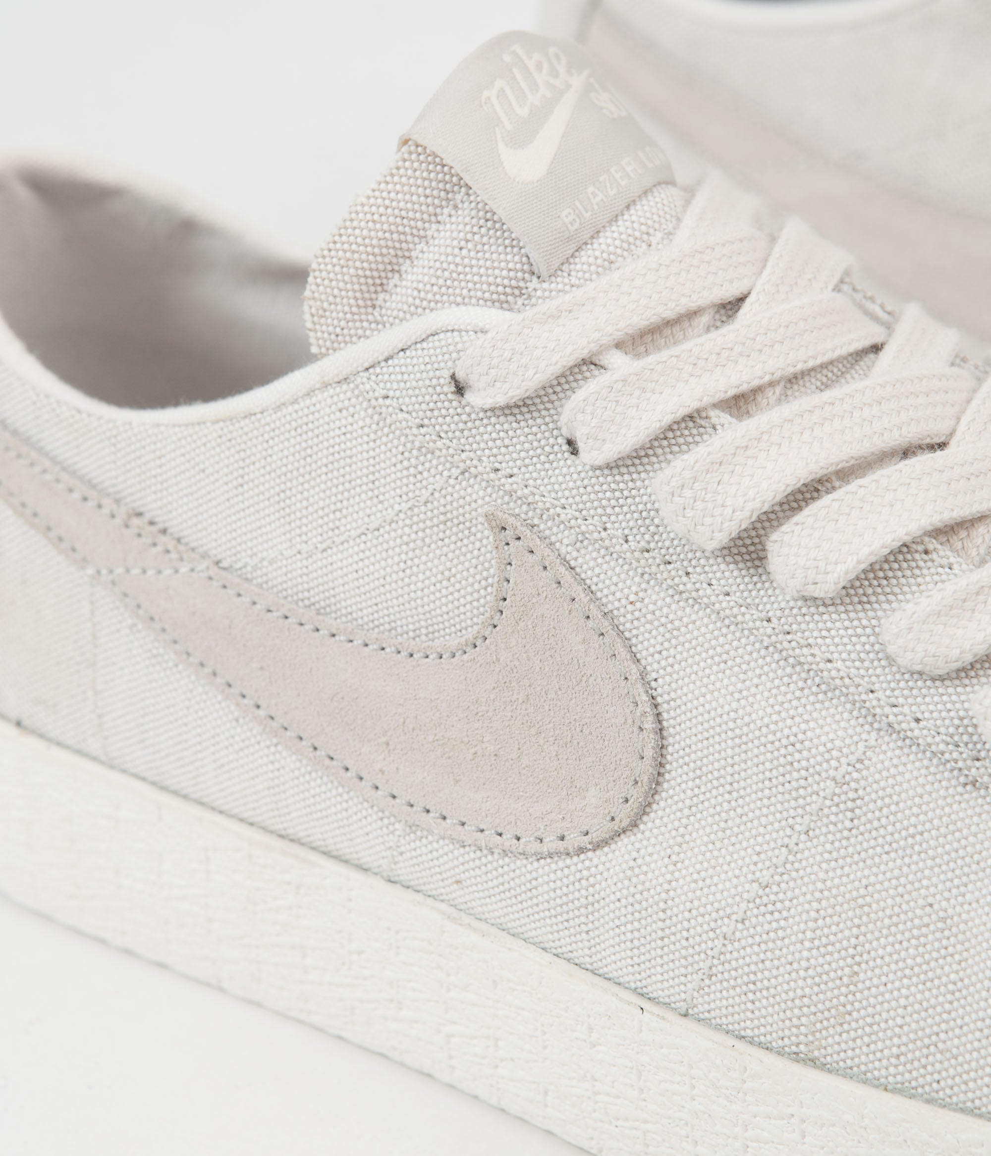 37e2defec66 ... Nike SB Blazer Low Canvas Deconstructed Shoes - Phantom   Light Bone - Habanero  Red ...