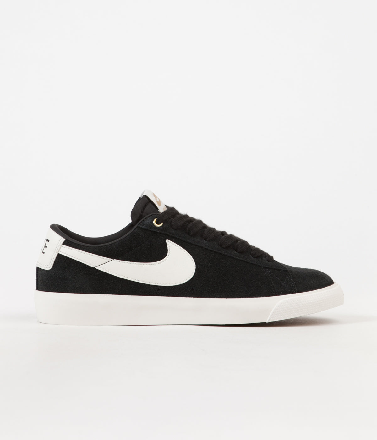 ed17b27adf1f Nike SB Blazer Low GT Shoes - Black   Sail
