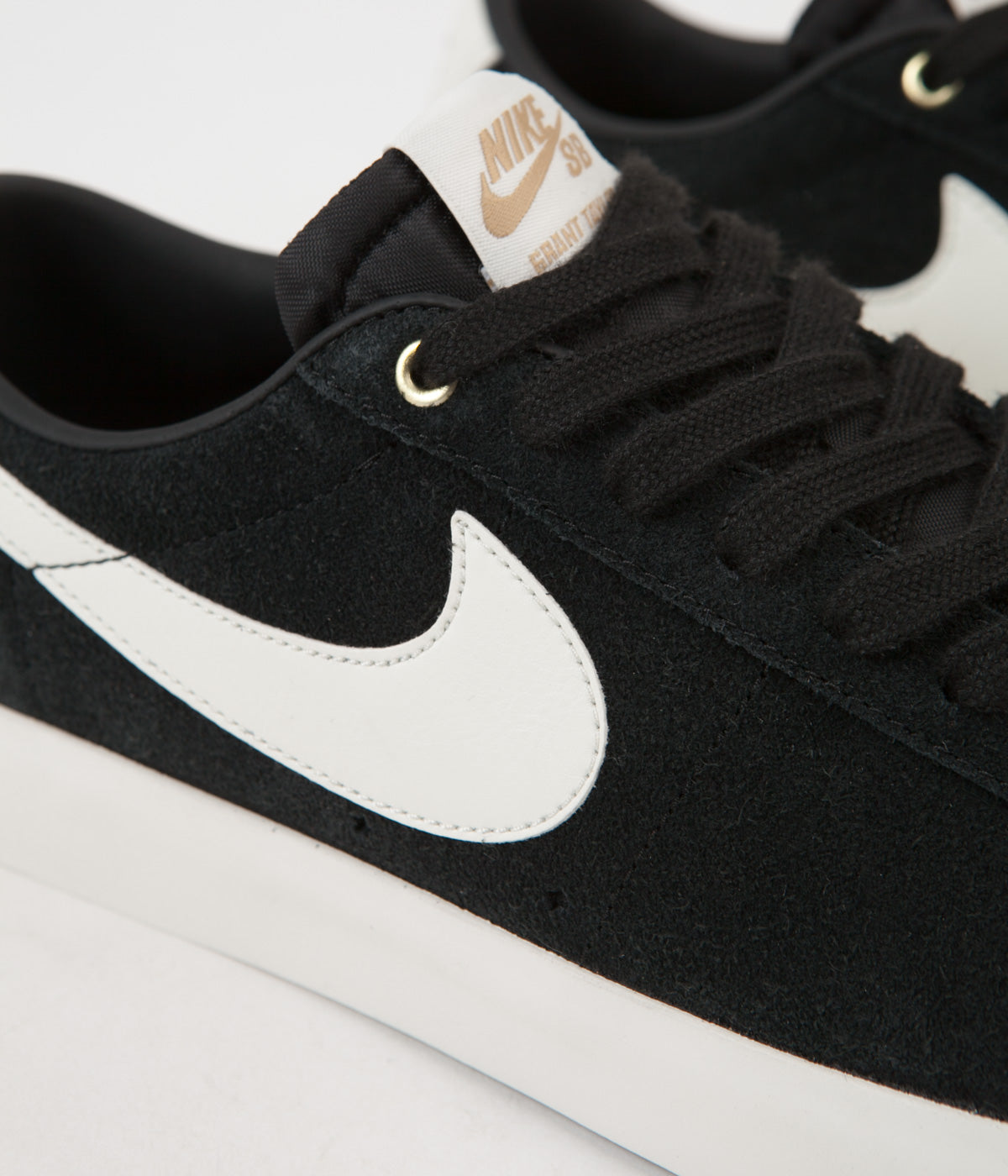 new product 494cc 8f9e3 Nike SB Blazer Low GT Shoes - Black / Sail | Flatspot
