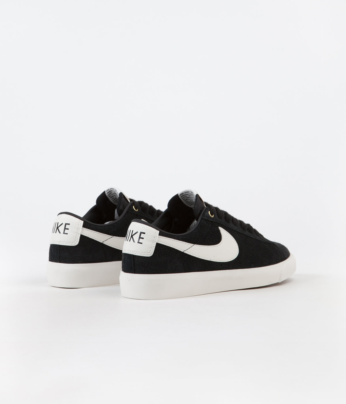 new product 382d6 caad1 Nike SB Blazer Low GT Shoes - Black / Sail | Flatspot