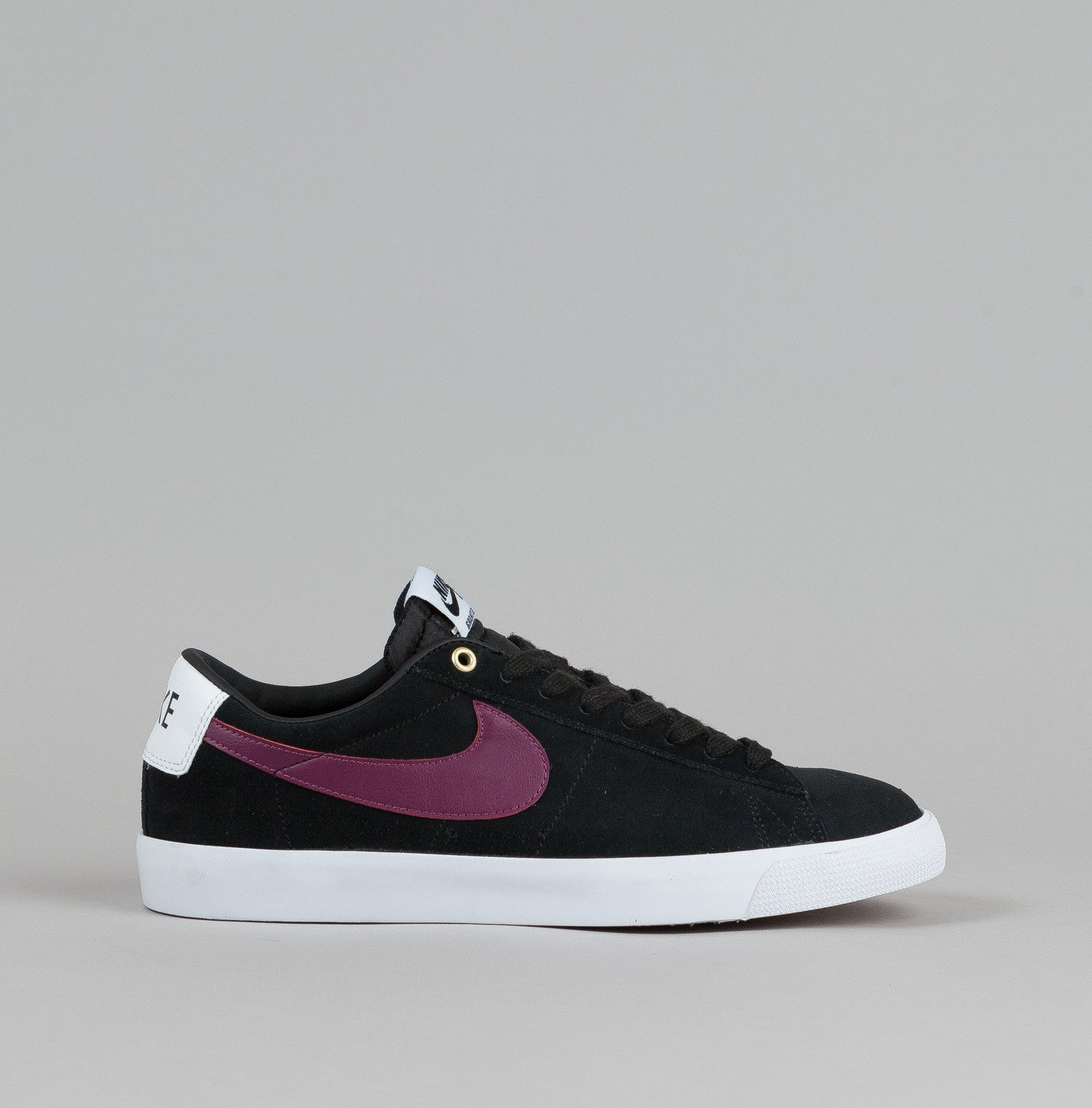 nike sb blazer low gt black villain red stefan