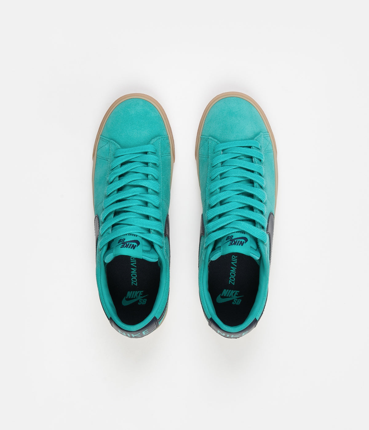 Nike SB Blazer Low GT Shoes - Cabana / Obsidian