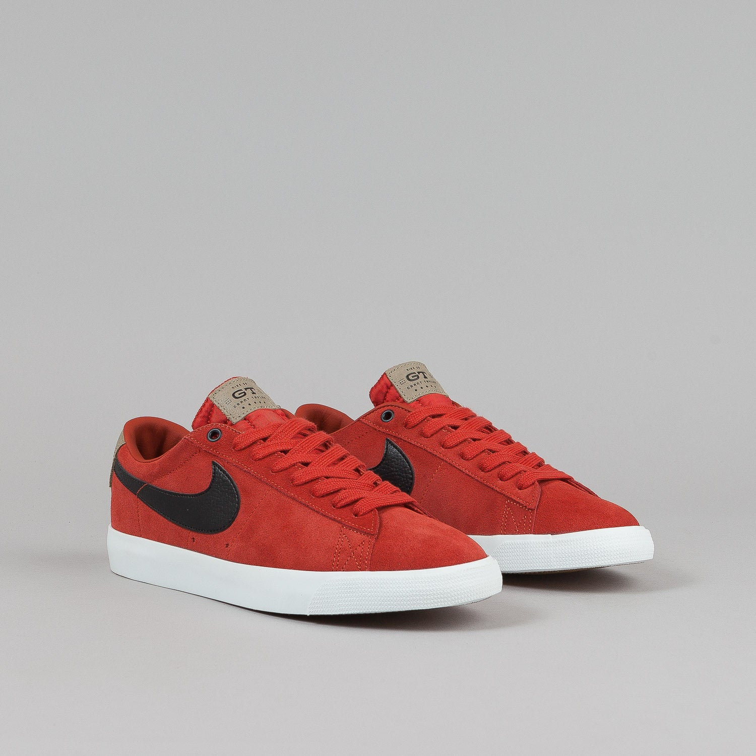 Nike SB Blazer Low GT Shoes QS - Cinnabar / Black / Bamboo