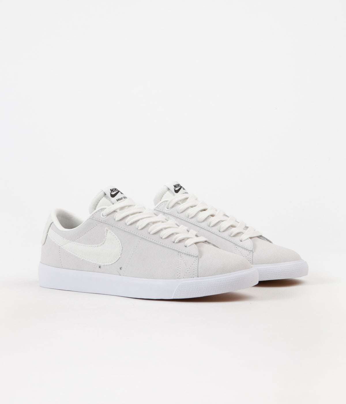 b5ee465d7f4579 ... Nike SB Blazer Low GT Shoes - Summit White   Summit White - Obsidian ...
