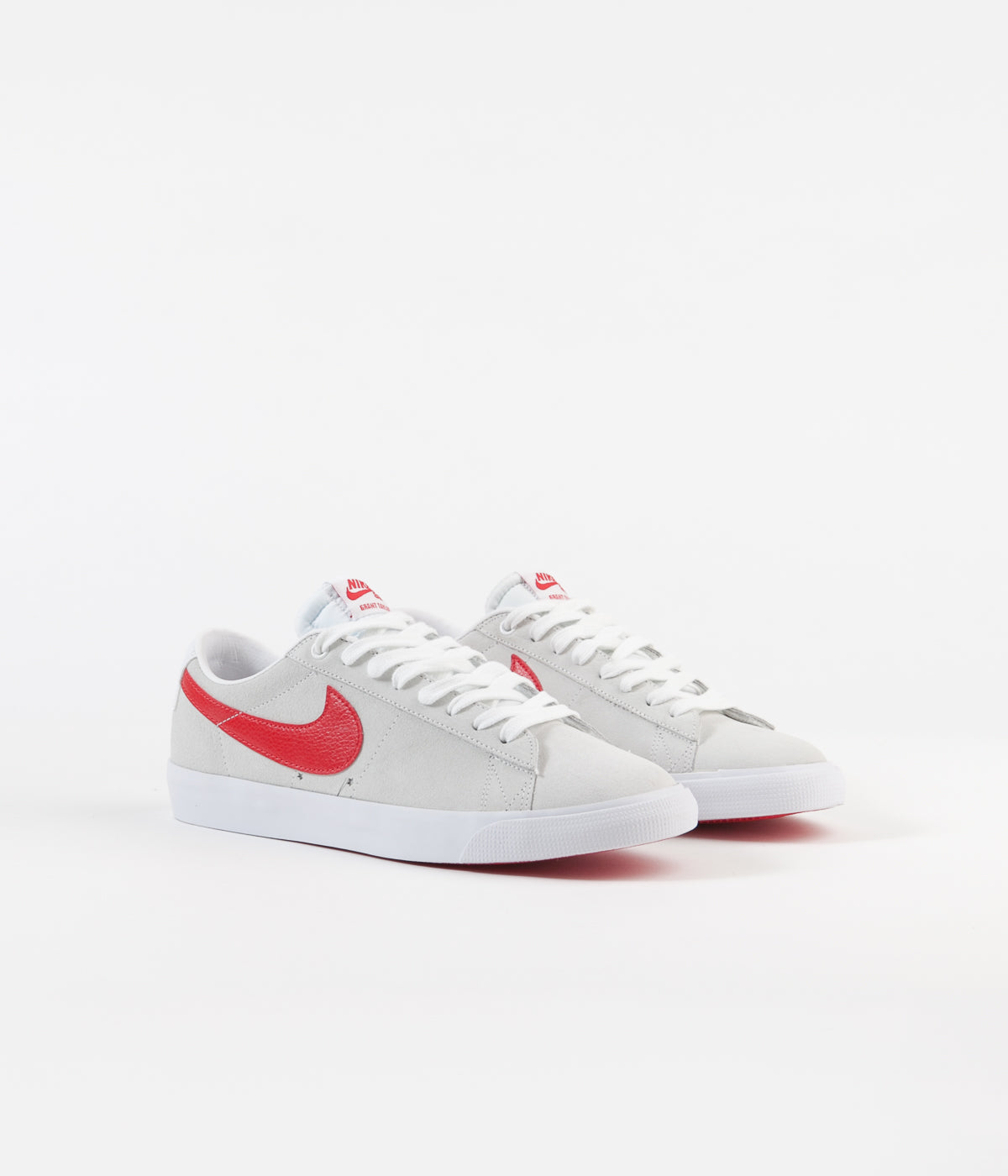competitive price 77e75 d62bc Nike SB Blazer Low GT Shoes - White   University Red