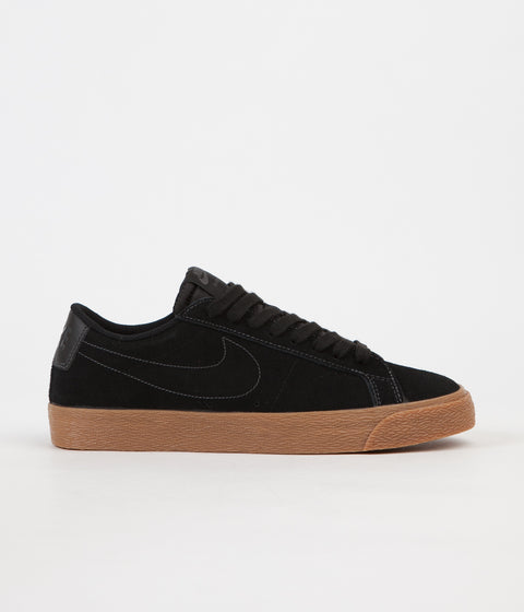 Nike SB Blazer Low Shoes - Black / Black / Anthracite