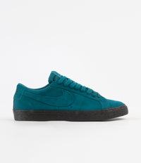 Nike SB Blazer Low Shoes - Geode Teal / Geode Teal - Black
