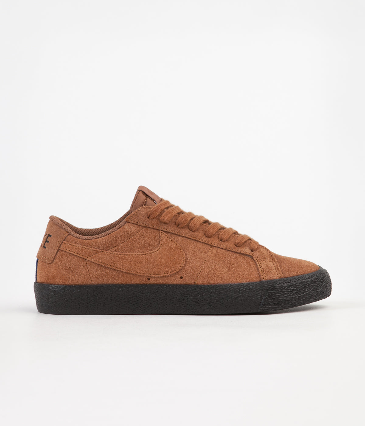 Nike SB Blazer Low Shoes - Light British Tan / Light British Tan - Black