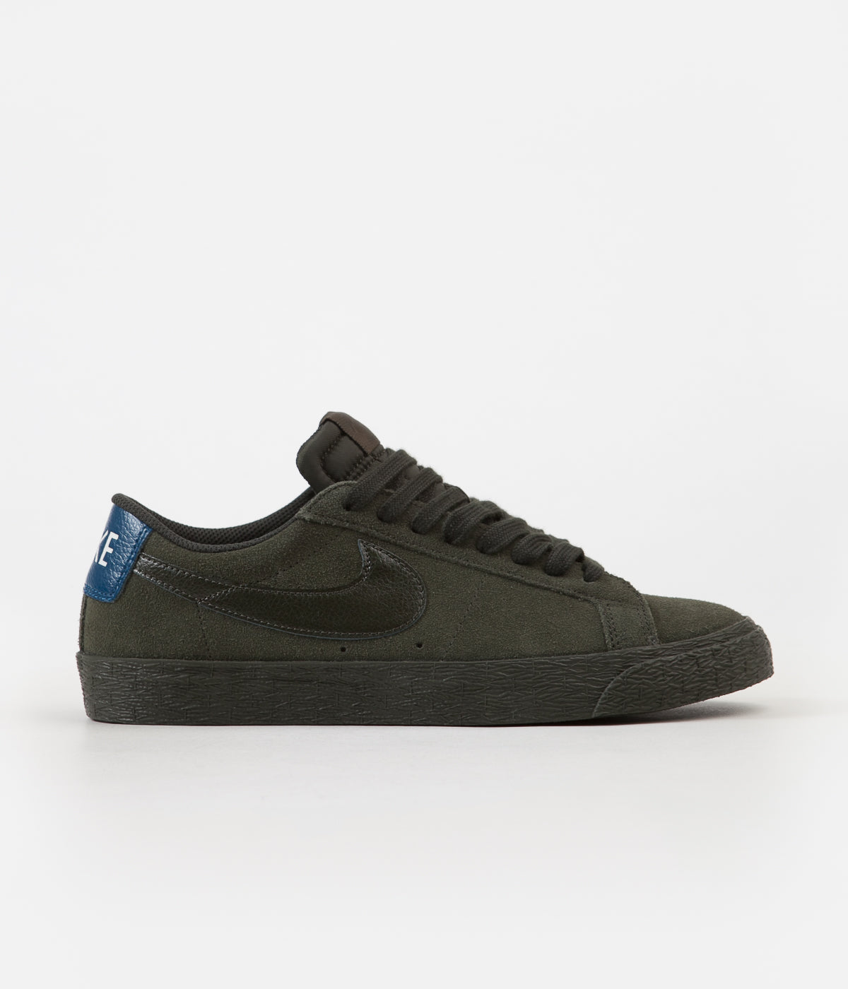 6a5eb19454f3 ... Nike SB Blazer Low Shoes - Sequoia   Sequoia - Blue Force ...