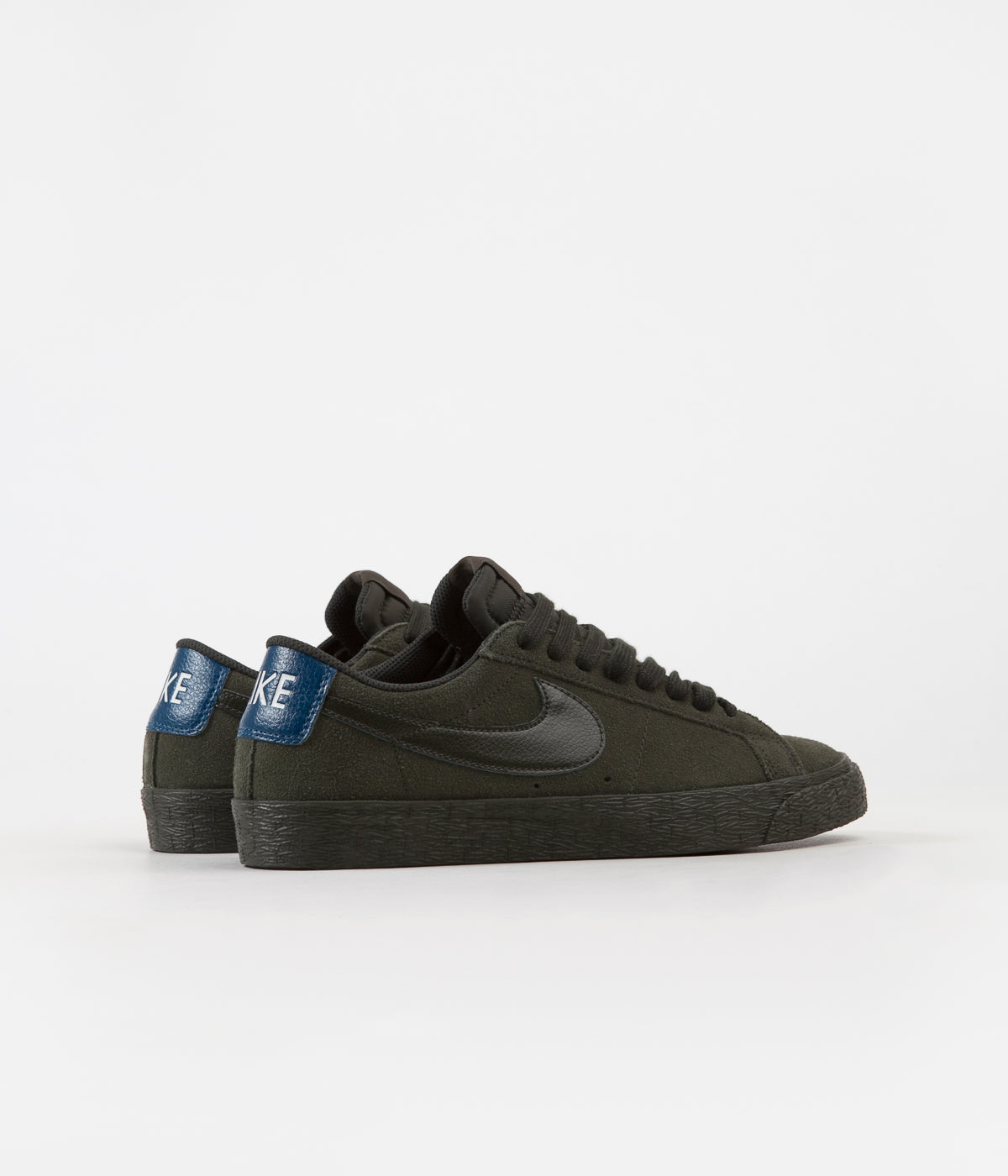 0f72fca8a72b ... Nike SB Blazer Low Shoes - Sequoia   Sequoia - Blue Force ...