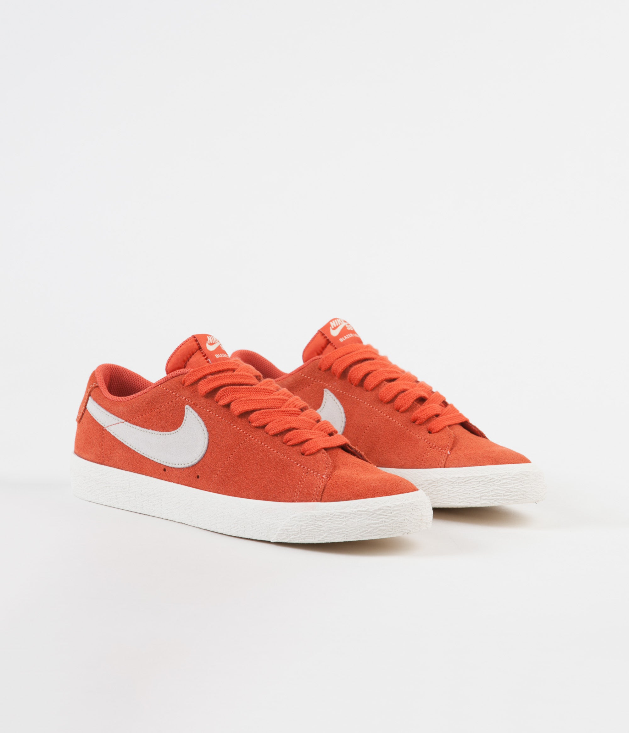 Nike SB Blazer Low Shoes - Vintage Coral / Fossil - Sail