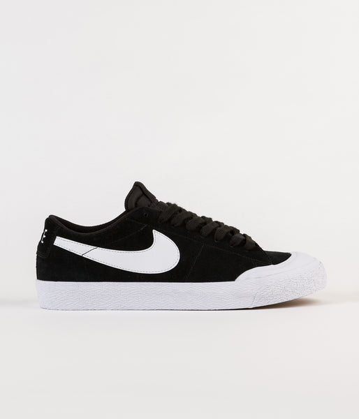 Nike SB Blazer Low XT Shoes - Black / Gum Light Brown - White