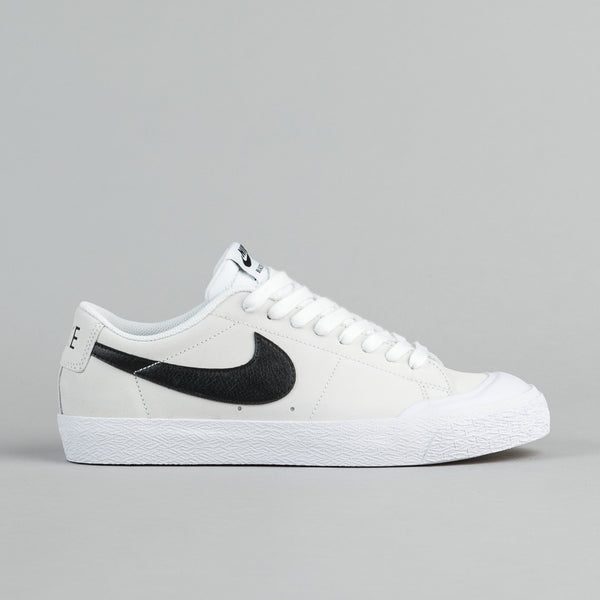 Nike SB Blazer Low XT Shoes - Summit White / Black - White - Gum Light Brown