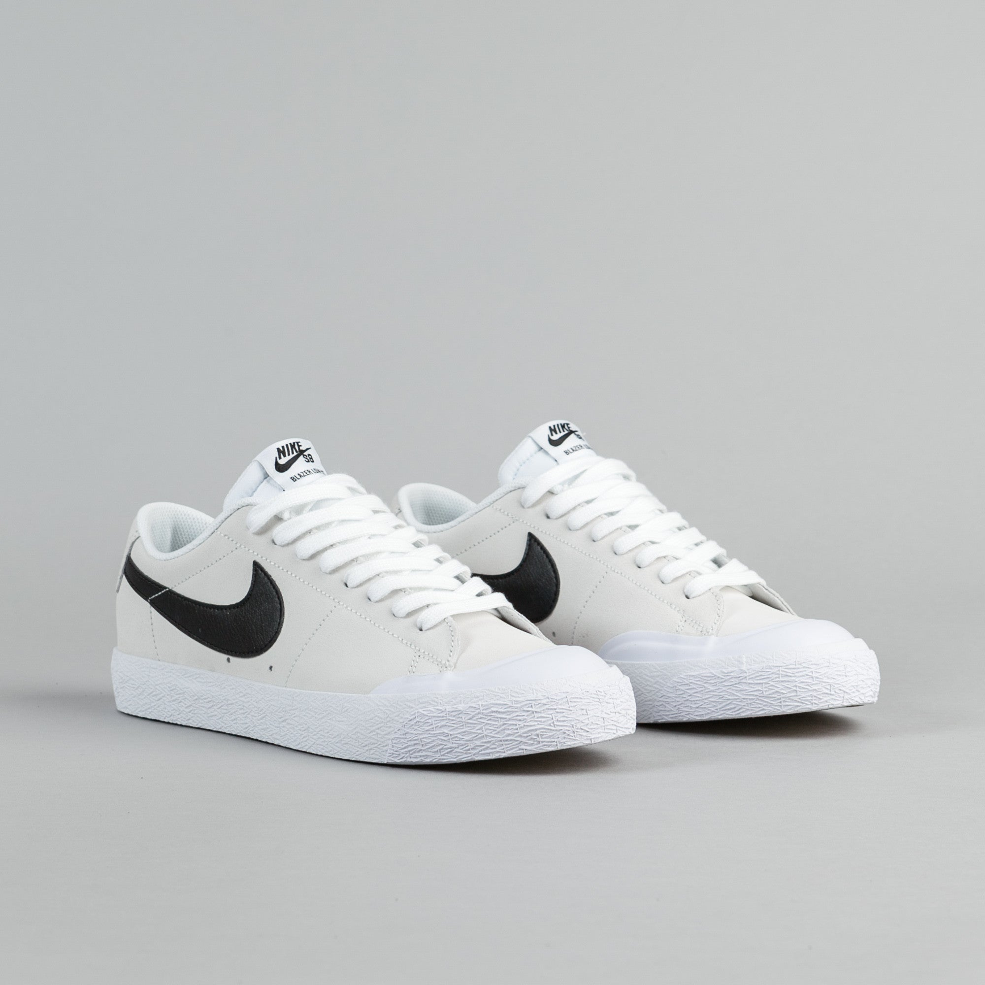 Nike SB Blazer Low XT Shoes  Summit White Black  White