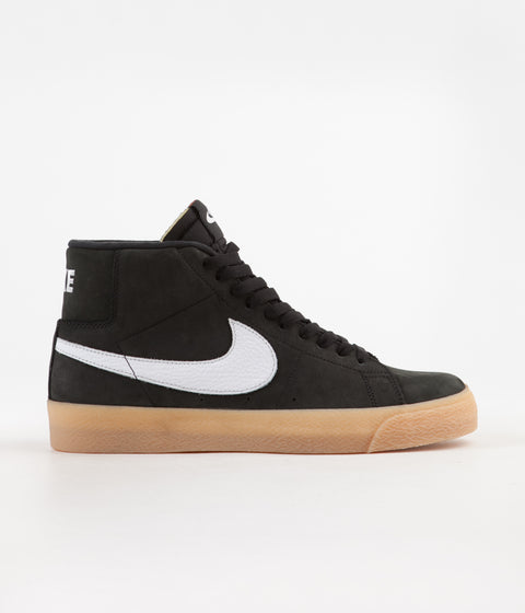 sports shoes 138e1 8f266 Nike SB Orange Label Blazer Mid Shoes - Black  White - Safety Orange