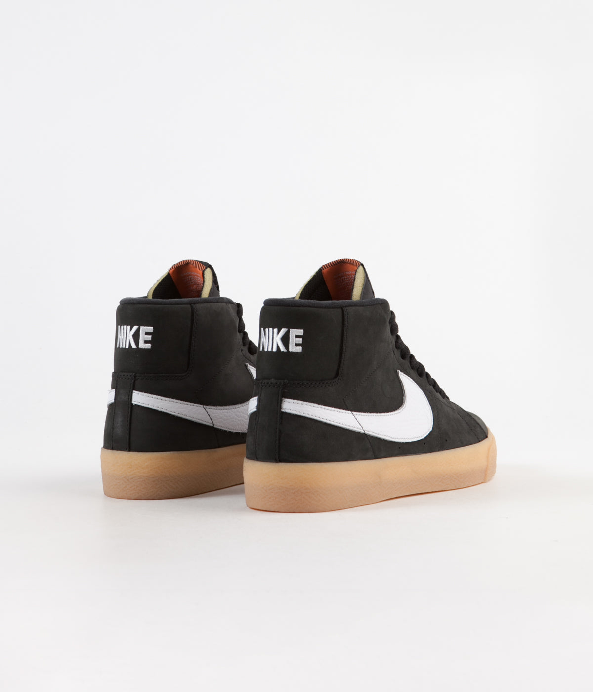 purchase cheap 4aff4 22557 ... Nike SB Orange Label Blazer Mid Shoes - Black   White - Safety Orange  ...