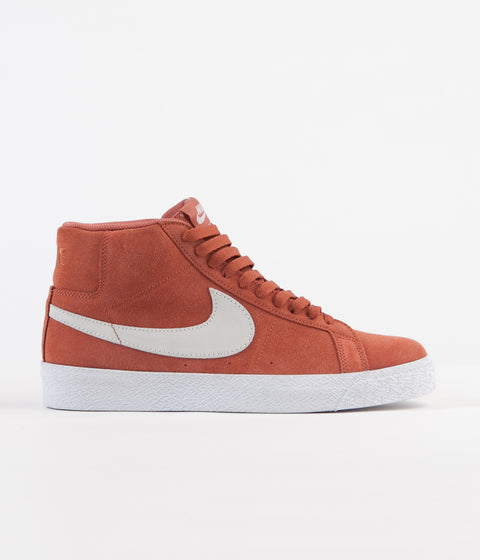 062999be4f8 Nike SB Blazer Mid Shoes - Dusty Peach   White