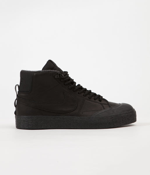 Nike SB Blazer Mid XT Bota Shoes - Black / Black - Anthracite