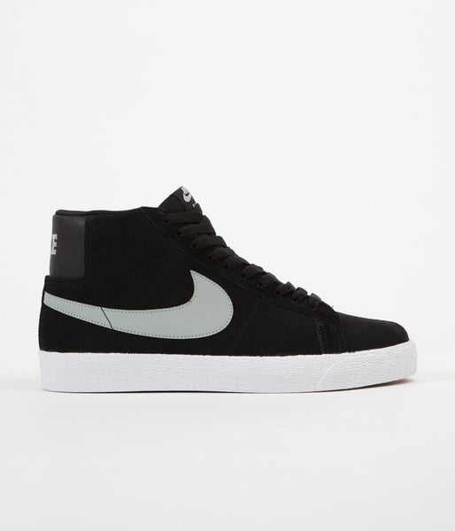 Nike SB Blazer Premium SE Shoes - Black / Base Grey - White