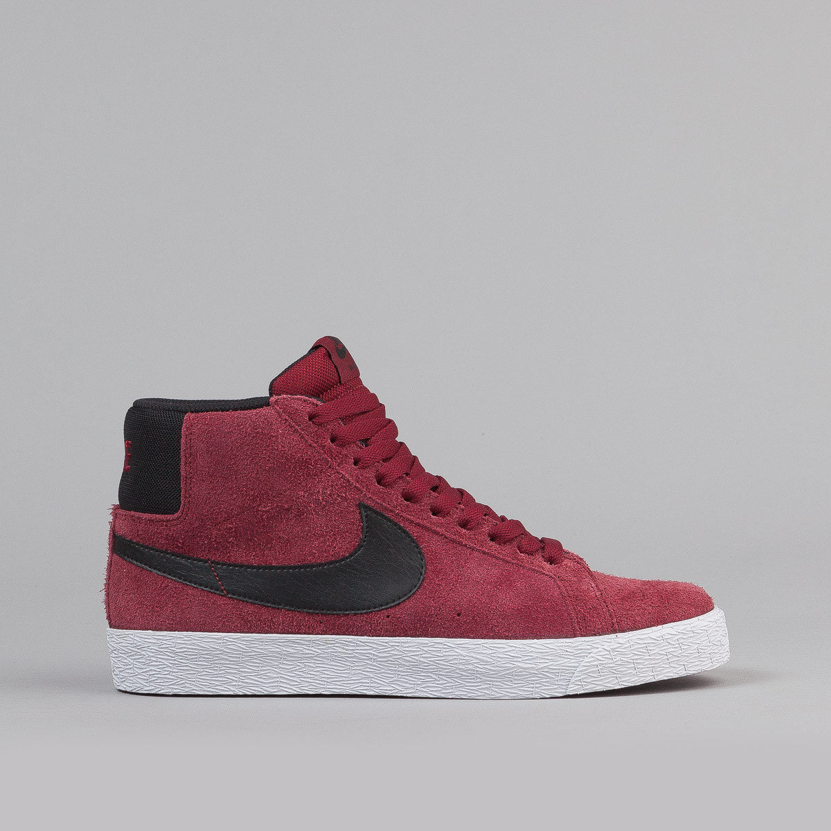 Nike SB Blazer Premium SE Shoes - Red / Black / White
