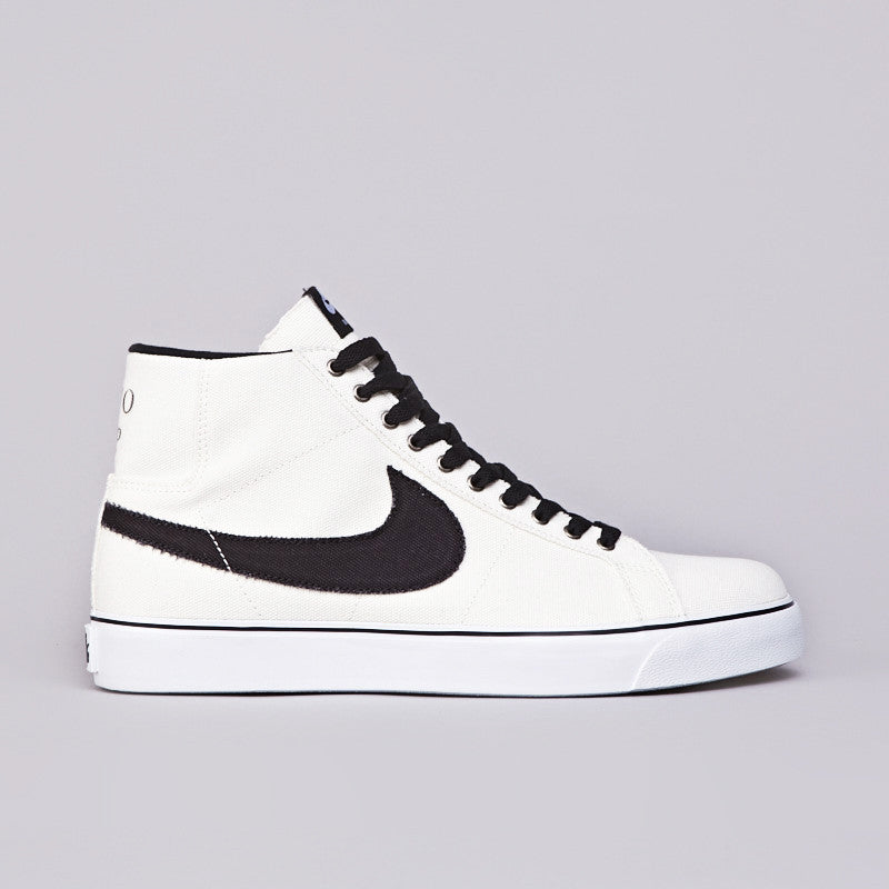 Nike Sb Blazer SB Canvas Sail / Black - White - Gum Yellow