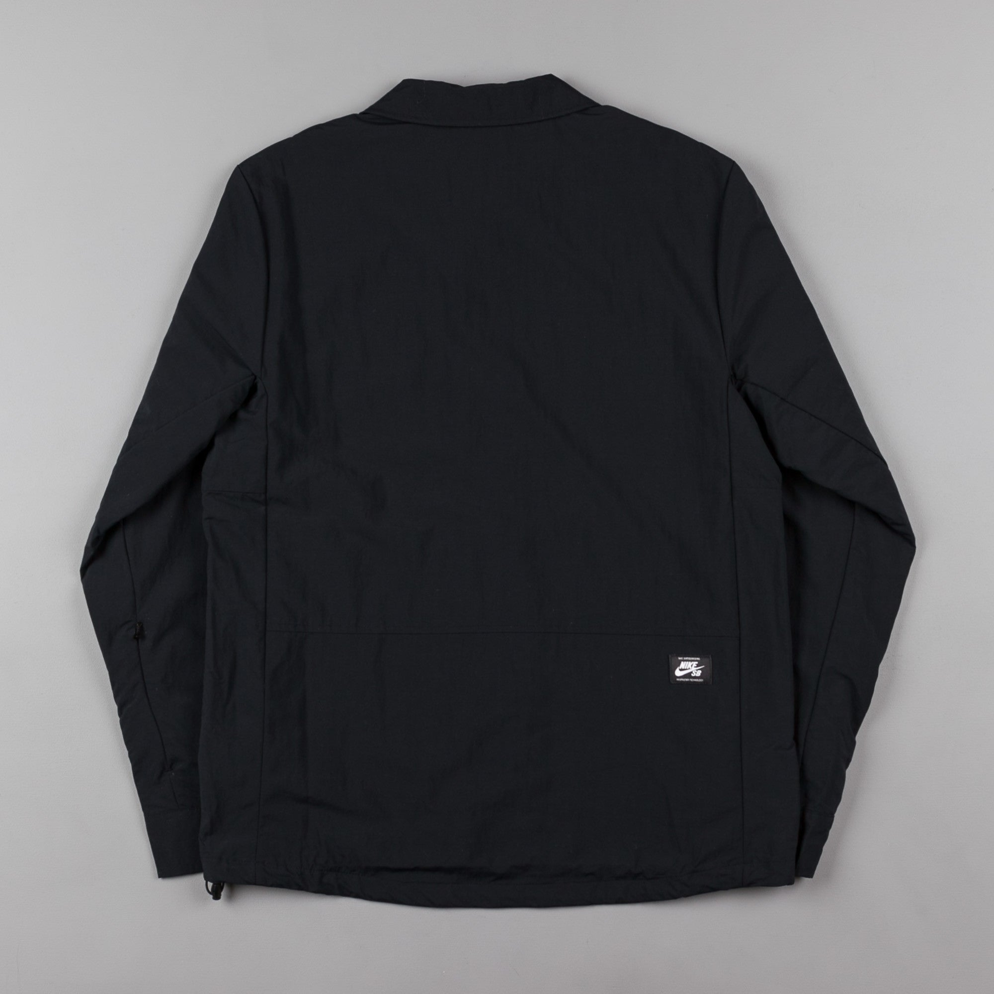 Nike SB Bolt Coaches Jacket - Black / Reflective Silver