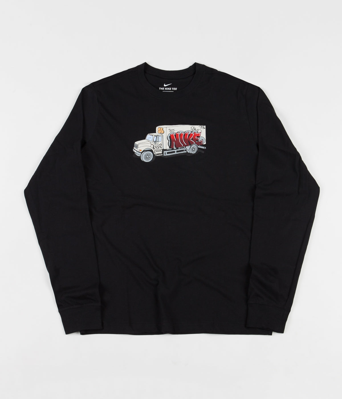 Nike SB Box Truck Long Sleeve T-Shirt - Black