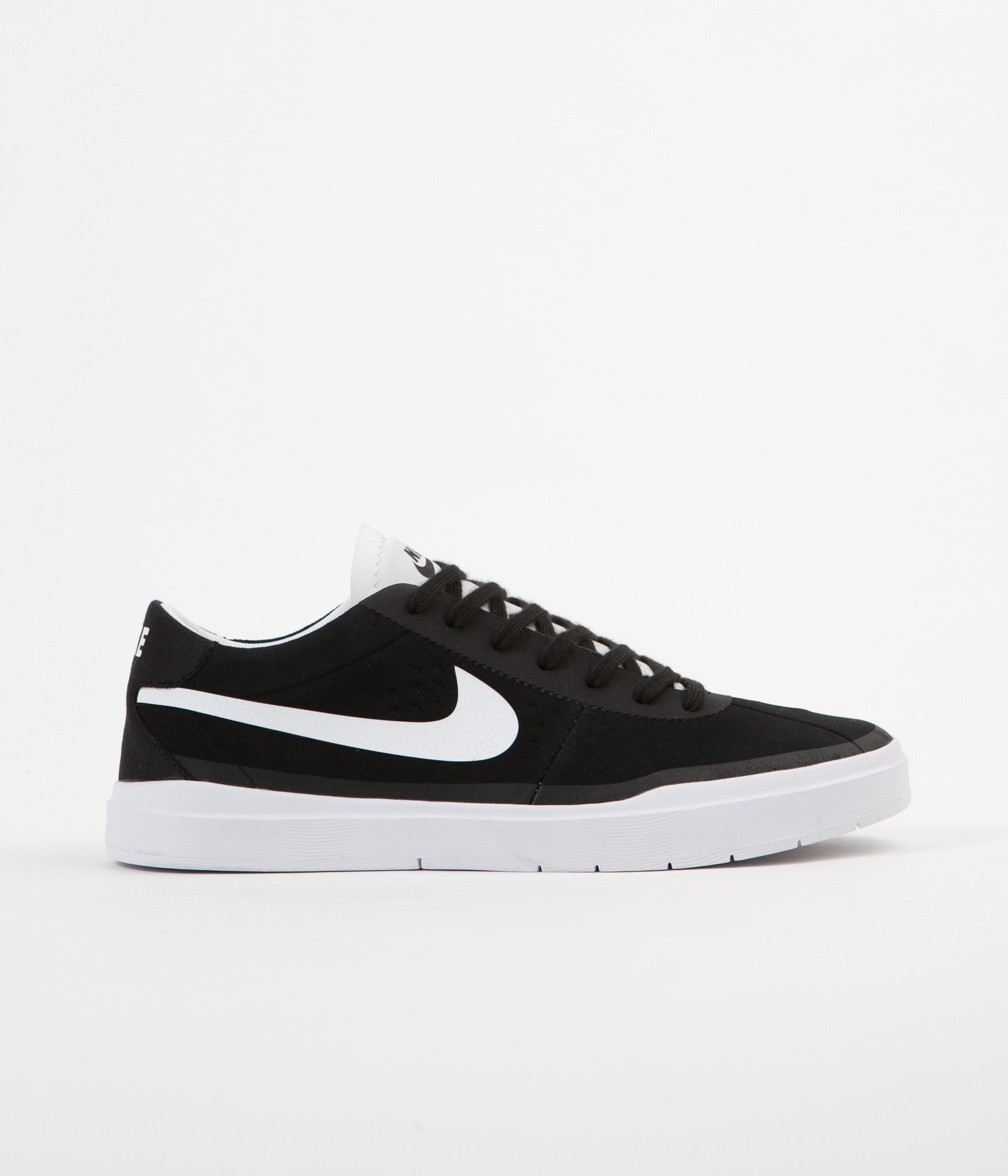 20e89378741 Nike SB Bruin Hyperfeel Shoes - Black   White - White