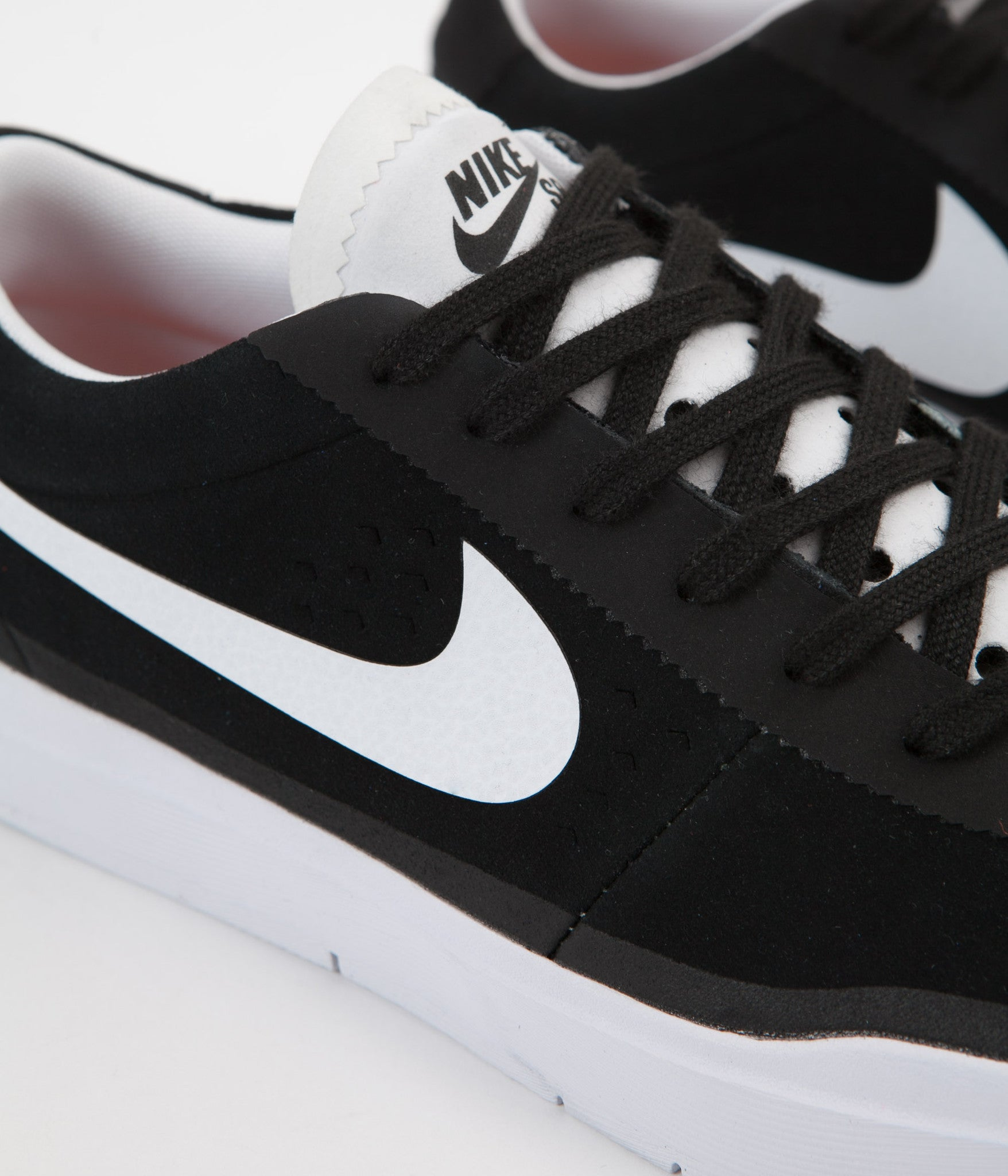 7e67ada7308 ... Nike SB Bruin Hyperfeel Shoes - Black   White - White ...