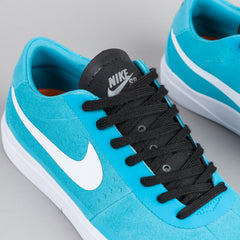 Nike SB Bruin Hyperfeel Shoes - Gamma Blue / White - Black - Cool Grey