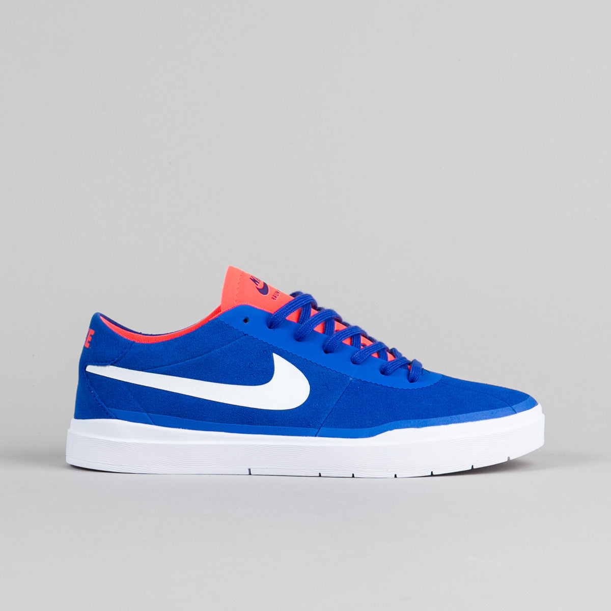 ... Nike SB Bruin Hyperfeel Shoes - Racer Blue / White - Total Crimson -  White ...